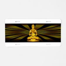 Buddha Siddhartha Gautama Golden Statue Aluminum L