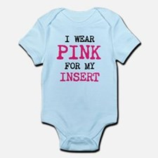 I wear pink for my insert Body Suit