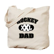Hockey Dad Tote Bag