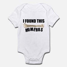 I Found This Humerus Infant Bodysuit