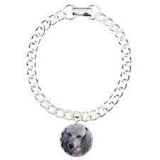 Mercedes Silver Poodle Bracelet