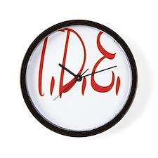 T.D.E. Wall Clock