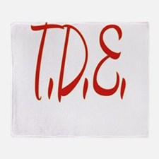 T.D.E. Throw Blanket