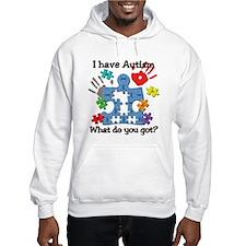I have Autism Funny Unique Puzzle Hoodie