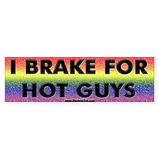 Brake Hot Guys Bumper Bumper Stickers