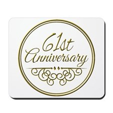 61st Anniversary Mousepad
