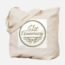 61st Anniversary Tote Bag