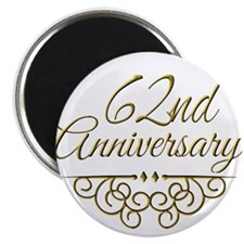 62nd Anniversary Magnets