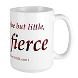 Fierce shakespeare Large Mugs (15 oz)
