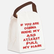 At Least Pull My Hair Canvas Lunch Bag