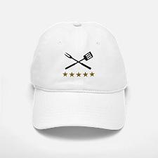 BBQ barbecue Cutlery Baseball Baseball Cap