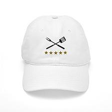 BBQ barbecue Cutlery Baseball Cap