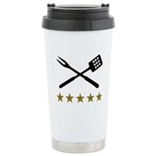 BBQ barbecue Cutlery Travel Coffee Mug