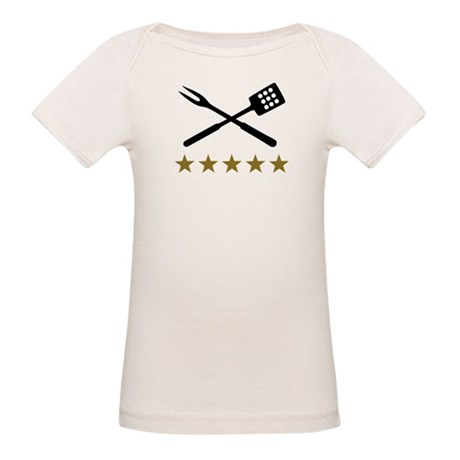BBQ barbecue Cutlery Organic Baby T-Shirt