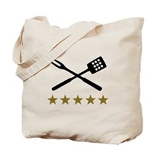 BBQ barbecue Cutlery Tote Bag