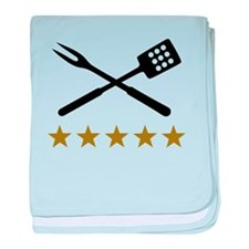 BBQ barbecue Cutlery baby blanket