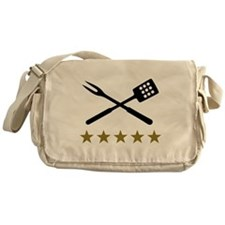 BBQ barbecue Cutlery Messenger Bag