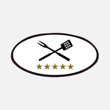 BBQ barbecue Cutlery Patches