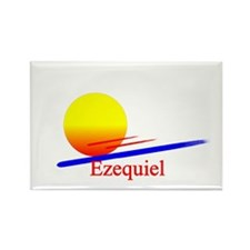 Ezequiel Rectangle Magnet