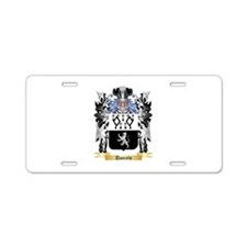 Daniels Aluminum License Plate
