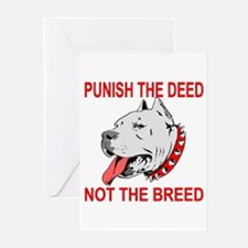 Punish The Deed Greeting Cards (Pk of 20)