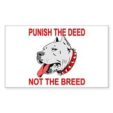 Punish The Deed Decal