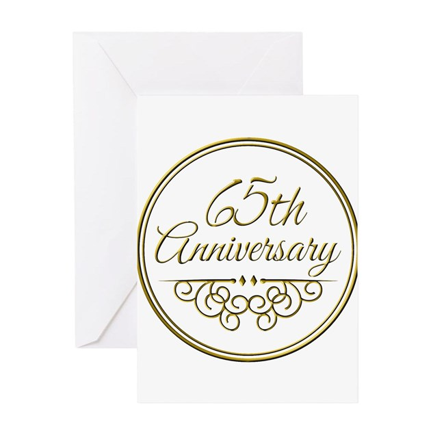 65th Anniversary Greeting Cards by Admin_CP49789583
