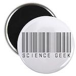 Barcode Science Geek Magnet