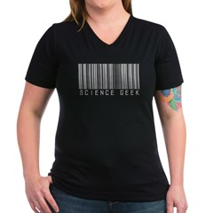 Barcode Science Geek Shirt