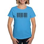 Barcode Science Geek Women's Dark T-Shirt