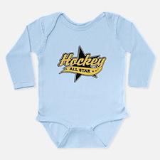Hockey All Star Long Sleeve Infant Bodysuit