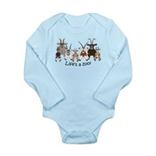 MWC Combo 2 Long Sleeve Infant Bodysuit