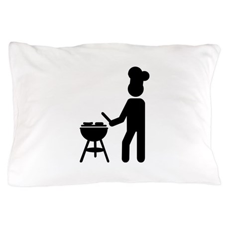 BBQ barbecue Cook chef Pillow Case