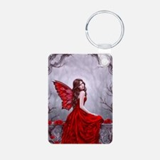Winter Rose Butterfly Fairy Keychains