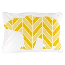 Chevron Bear Pillow Case
