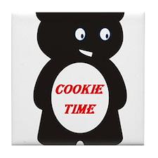 Cookie Bear Tile Coaster