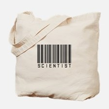 Barcode Science Geek Tote Bag