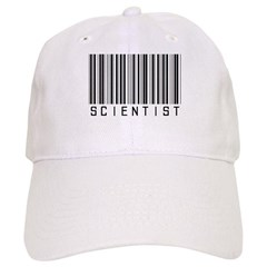 Barcode Science Geek Baseball Cap