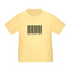Barcode Science Geek T