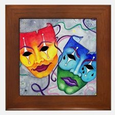 Comedy and Tragedy  Framed Tile