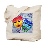 New orleans mardi gras Canvas Totes
