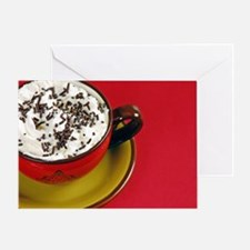 Cup of cocoa Greeting Card