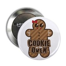 """Cookie in the Oven™ 2.25"""" Button (10 pack)"""