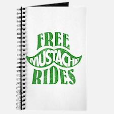 Free mustache rides Journal