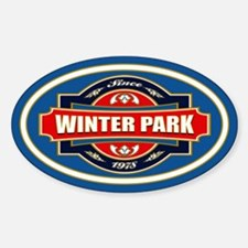 Winter Park Old Label Decal