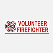 Unique Firefighter Car Magnet 10 x 3