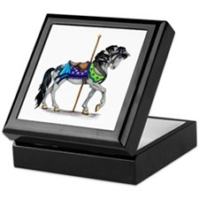 The Carousel Horse Keepsake Box