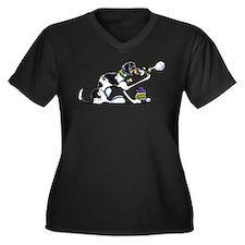 Foxhound Bubbles Plus Size T-Shirt