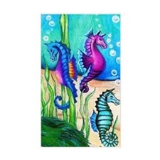 Three Water Horses Decal