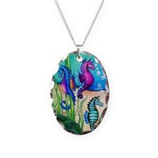 Three Water Horses Necklace